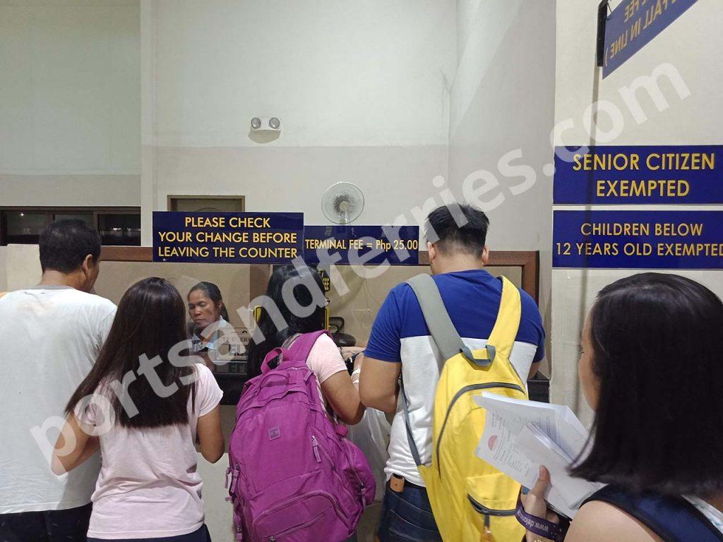 Cebu City Pier 1 Terminal Fee