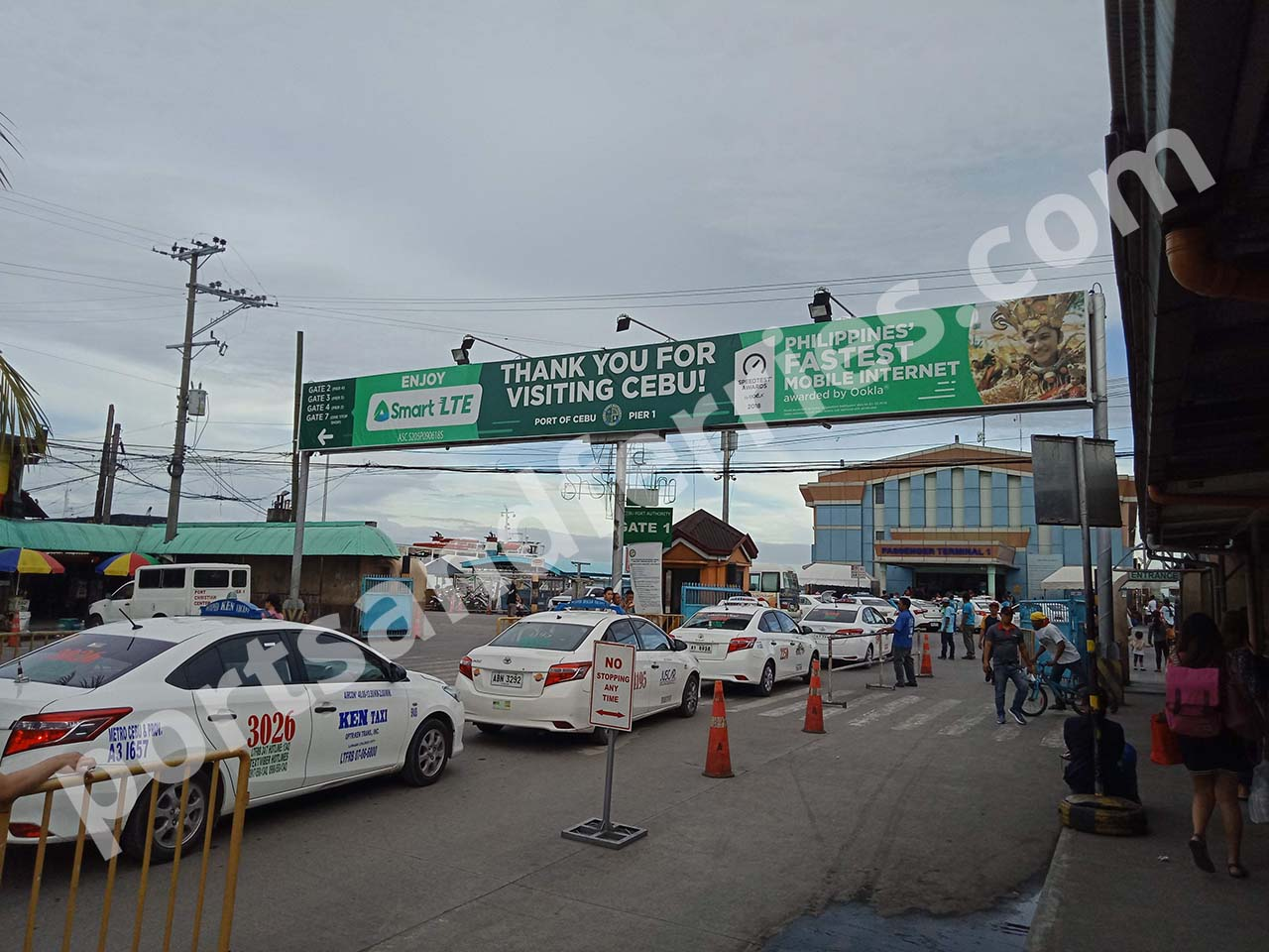 Cebu City Pier 1: Location, Passenger Terminal, Terminal Fee