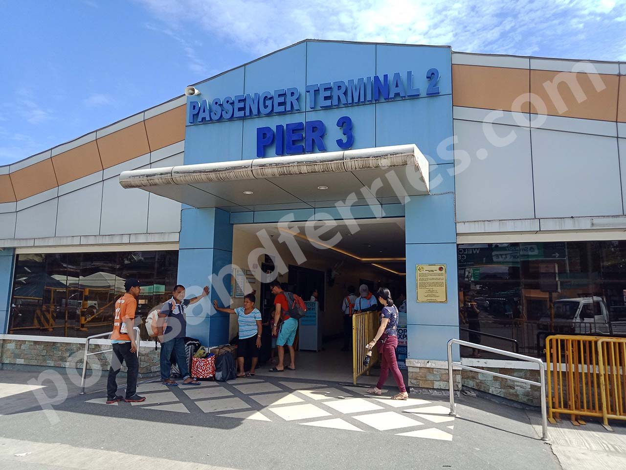 Cebu City Pier 3: Location, Passenger Terminal, Terminal Fee