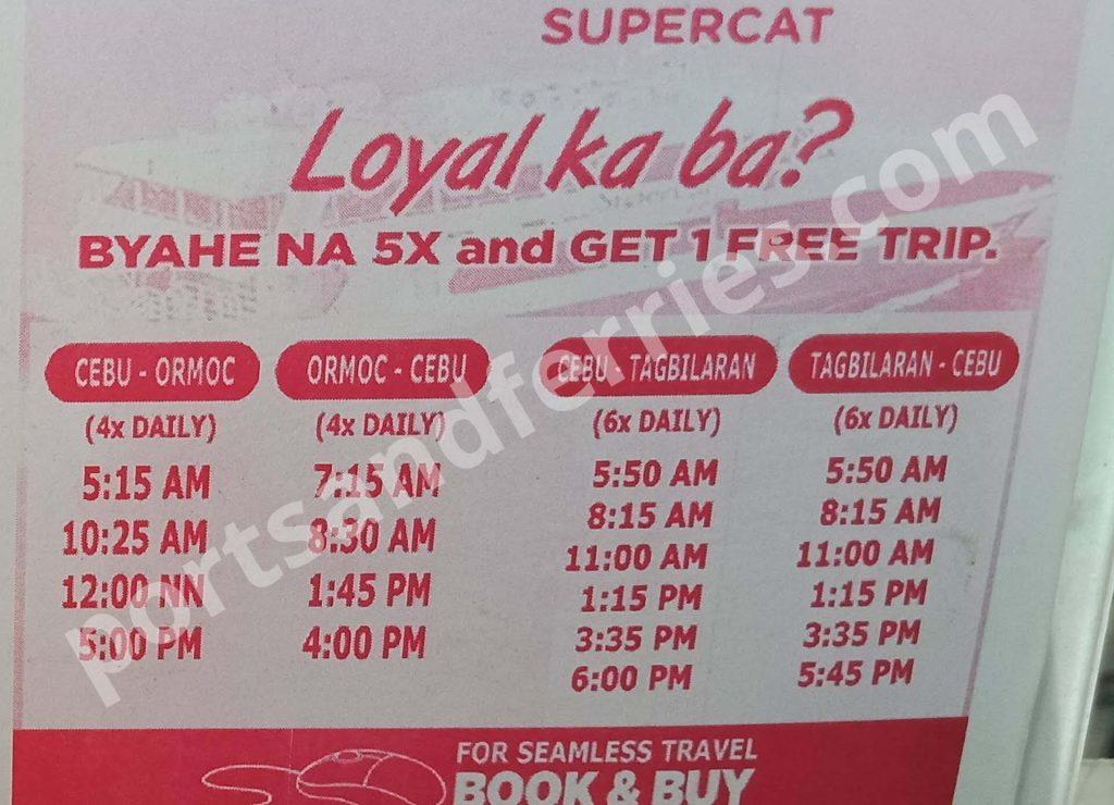 2019 SuperCat Cebu-Ormoc: Schedule, Ticket Fare & Booking