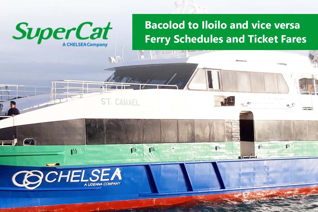 Bacolod to Iloilo and v.v.: SuperCat Schedule, Fare Rates & Booking