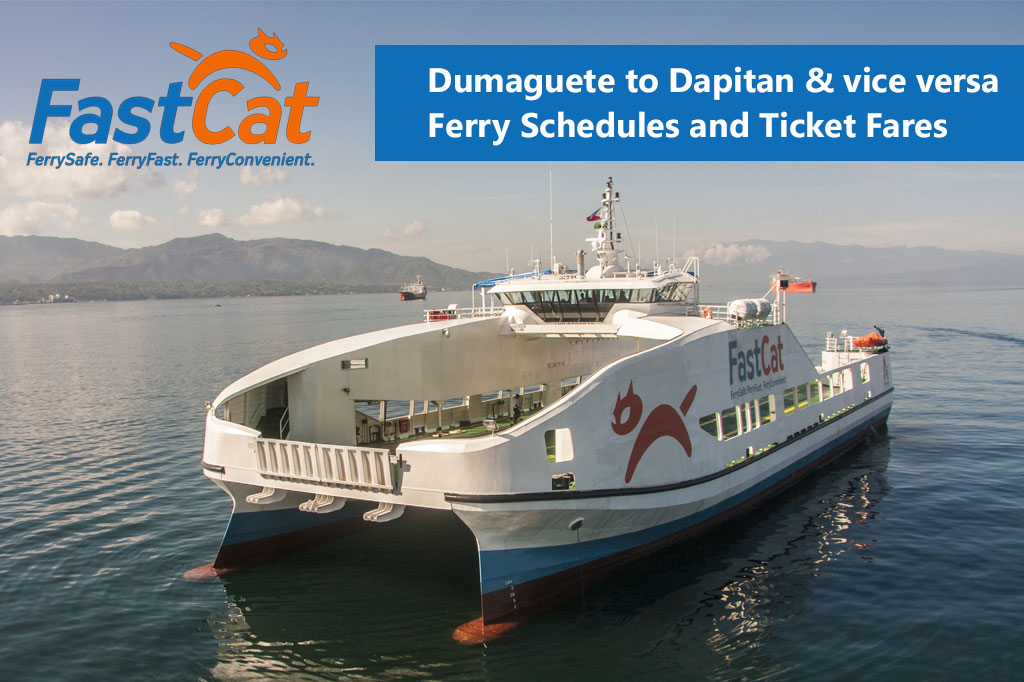 2020 FastCat Dumaguete-Dapitan: Schedule, Fare and Booking