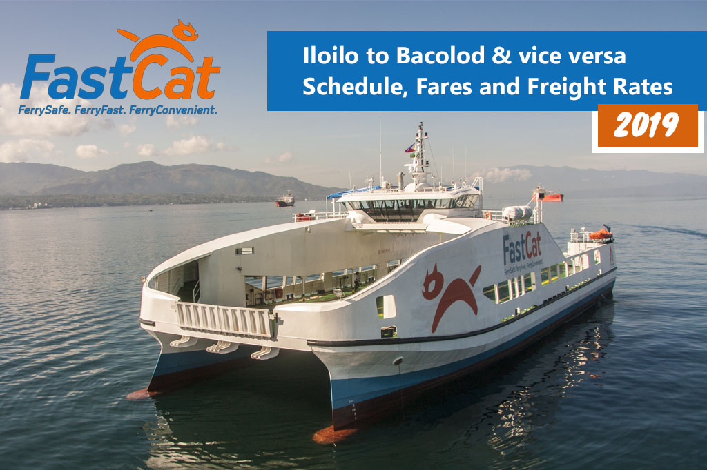 2019 FastCat Iloilo-Bacolod: Schedule, Ticket Fare & Booking