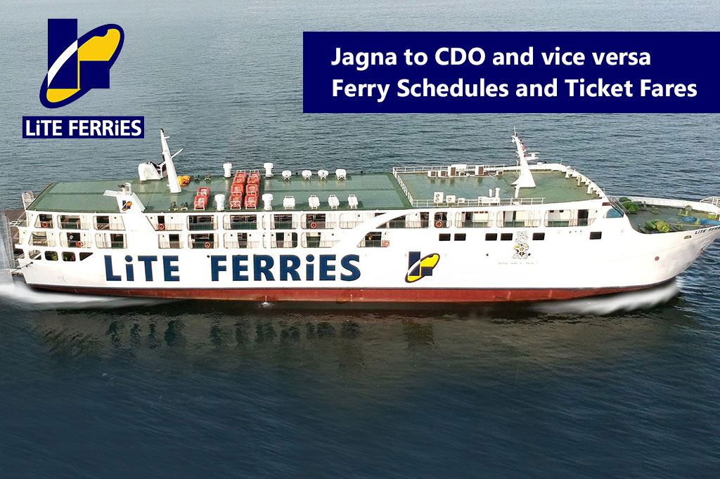 2020 Lite Ferry Jagna-Cagayan De Oro: Schedule, Ticket Fare & Booking