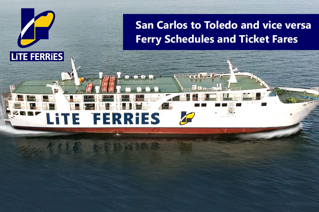 2020 Lite Ferry San Carlos-Toledo Schedules and Ticket Fares