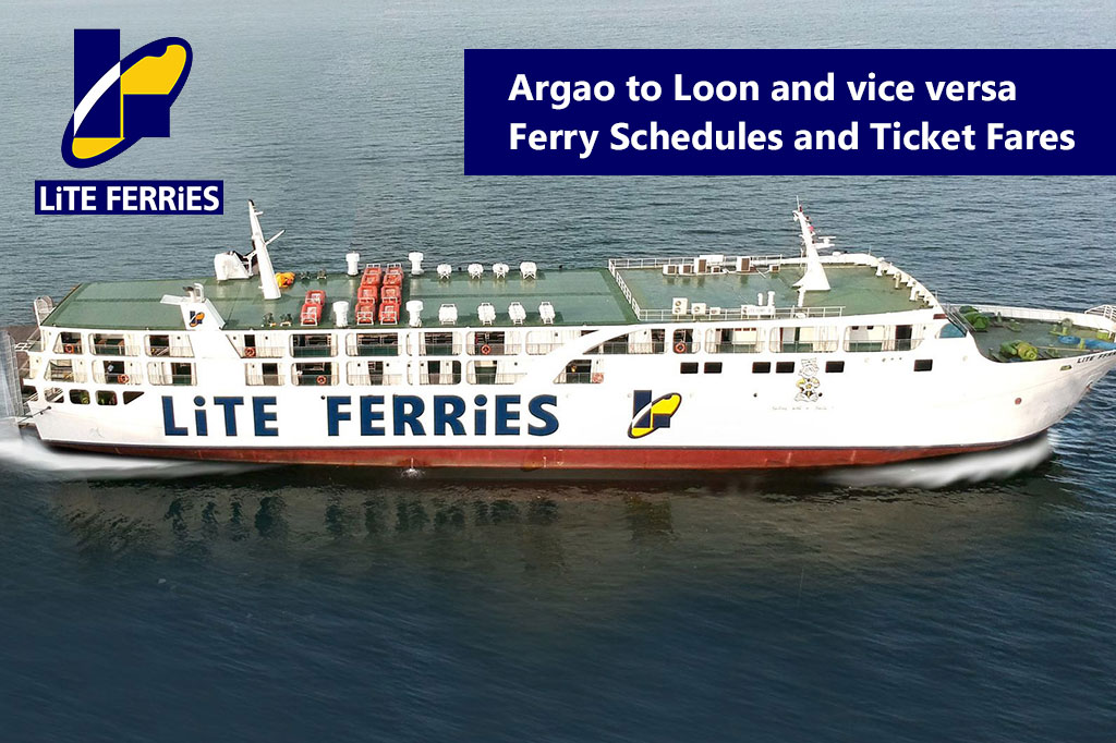 2020 Argao to Loon / Loon to Argao: Lite Ferries Schedule and Fare