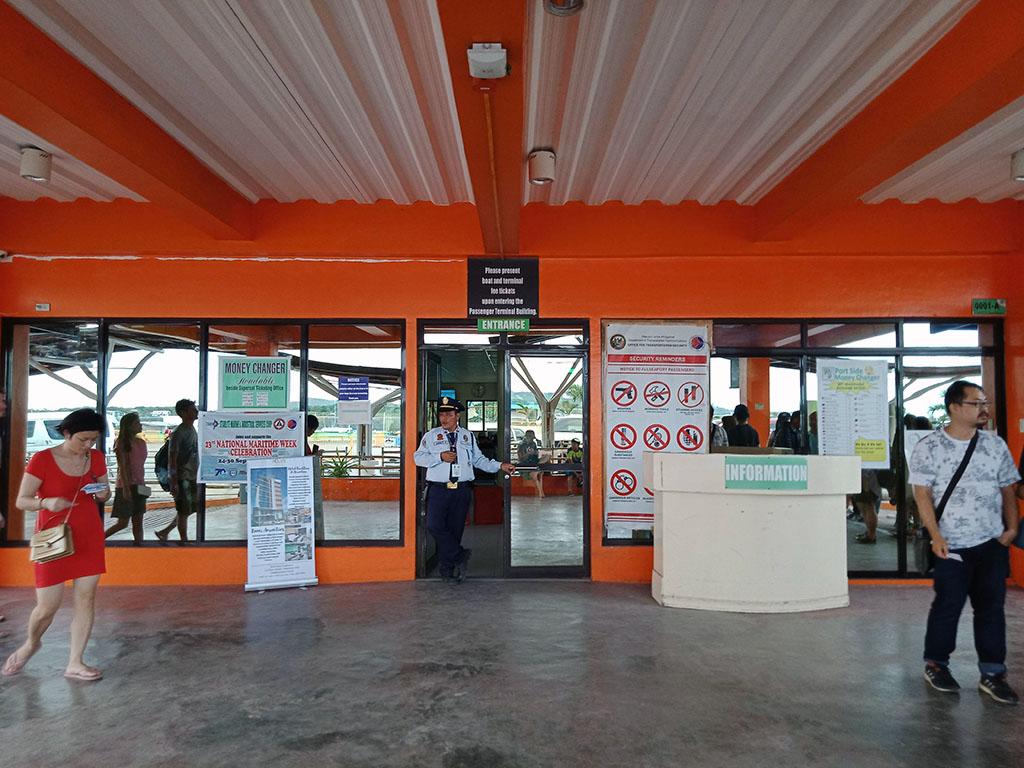 Passenger Ferry Terminal Entrance