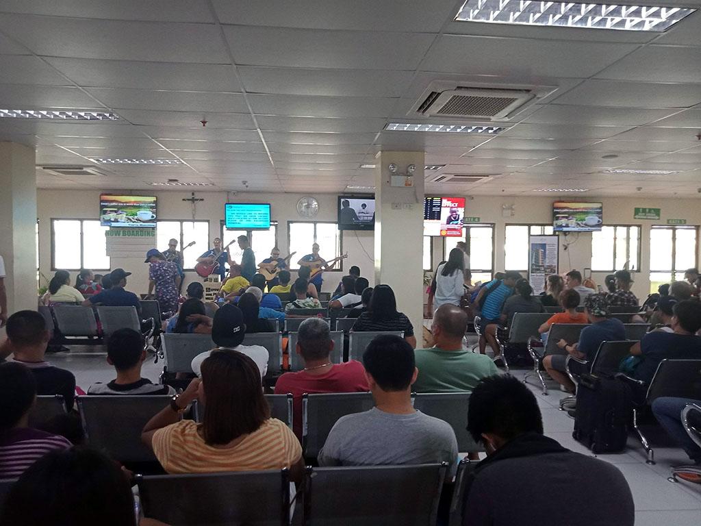 First floor of Passenger Terminal