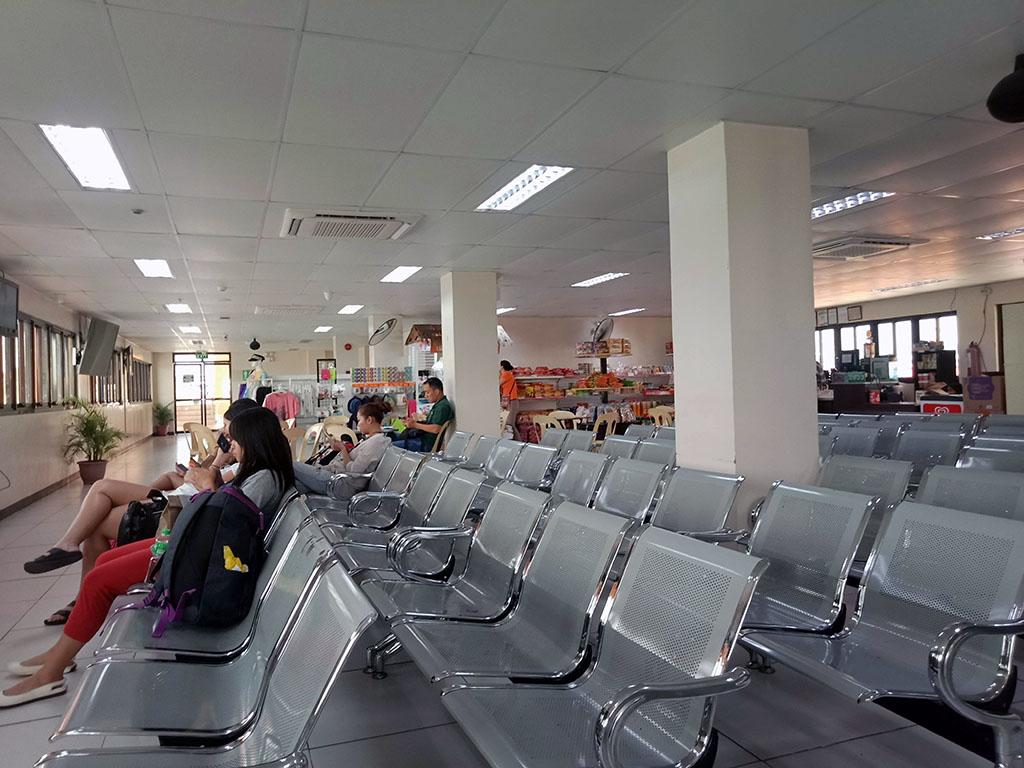 Second floor of Passenger Terminal