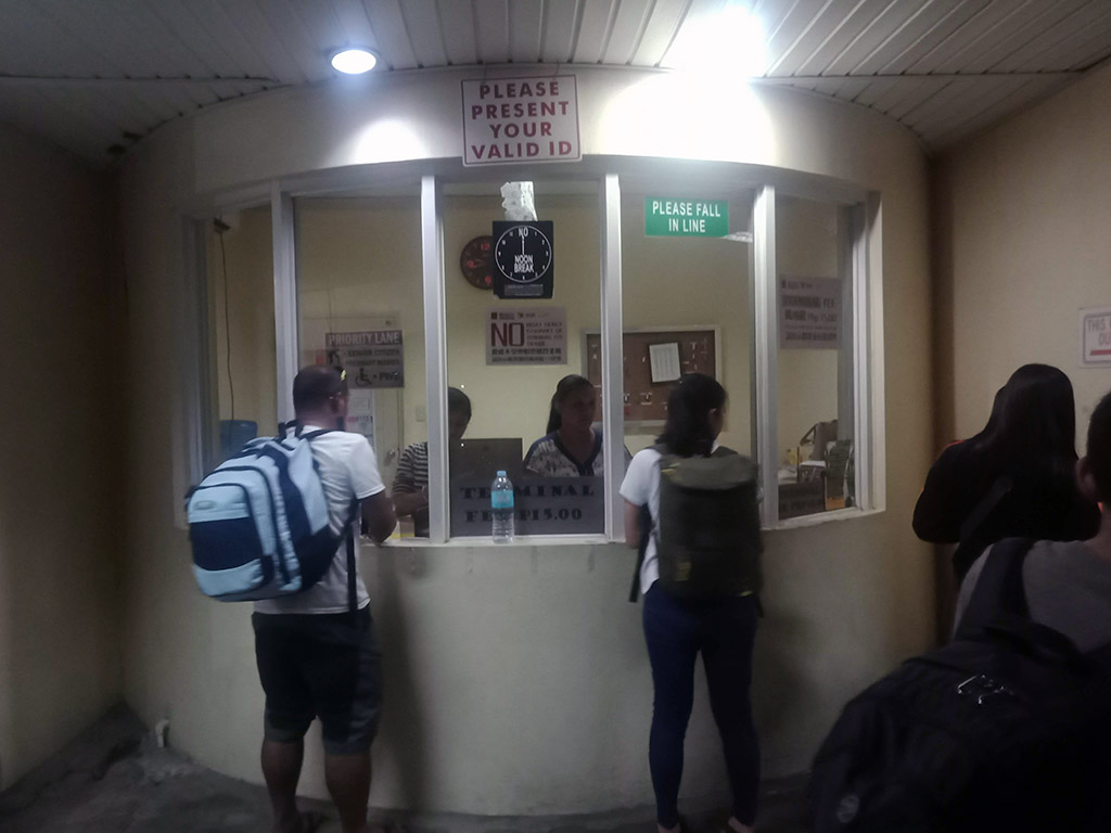Terminal Fee Ticketing Office