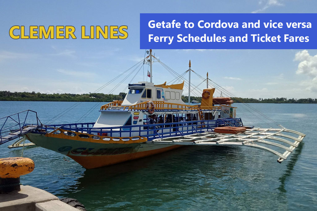 2020 Jetafe – Cordova: Clemer Lines Ferry Schedules and Fares
