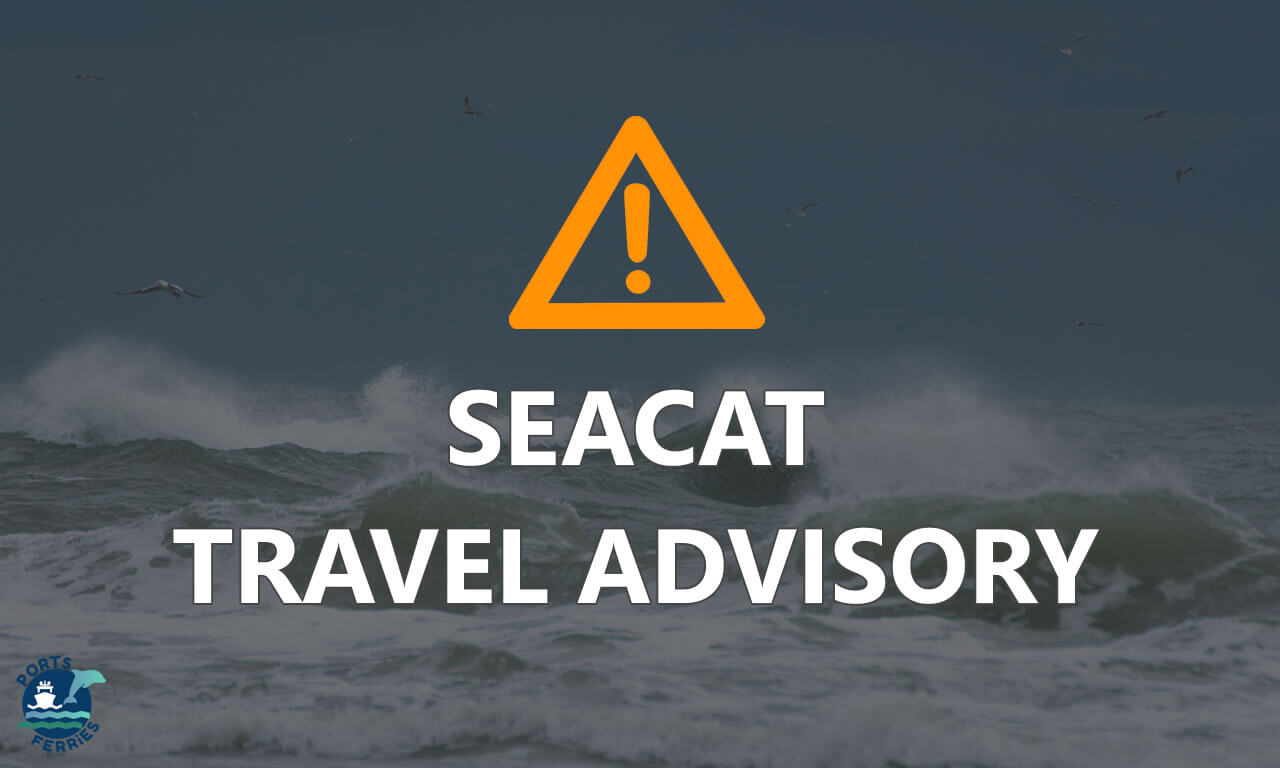 Canceled trips by SeaCat for August 7