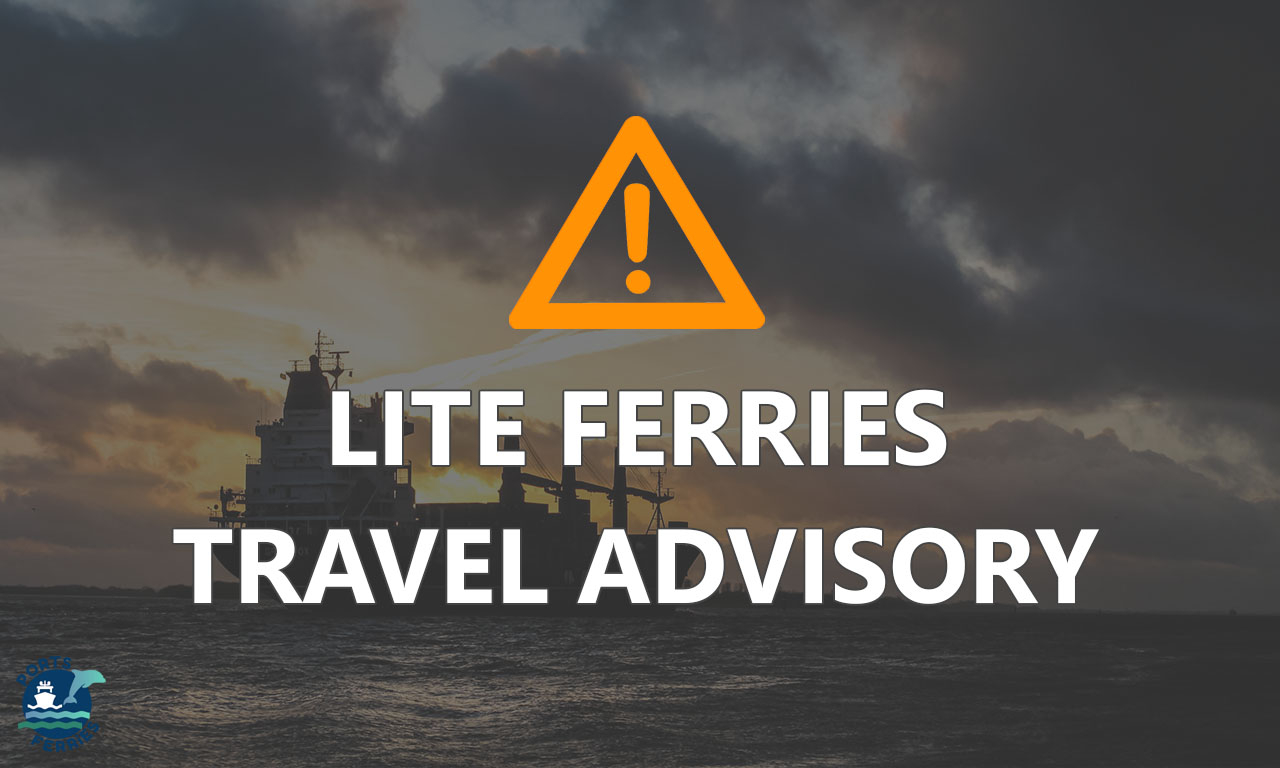 Lite Ferries December 2020 Schedule & Routes