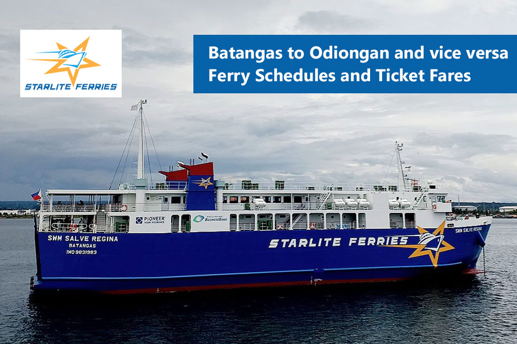 Batangas to Odiongan and v.v.: Starlite Ferries Schedule & Fare Rates