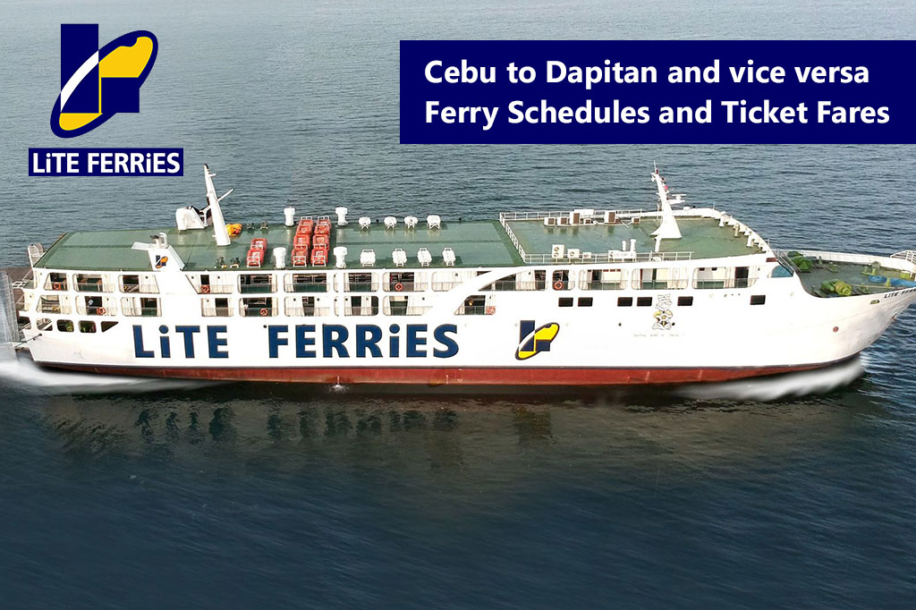 2020 Lite Ferry Cebu-Dapitan: Schedule, Ticket Fares & Booking