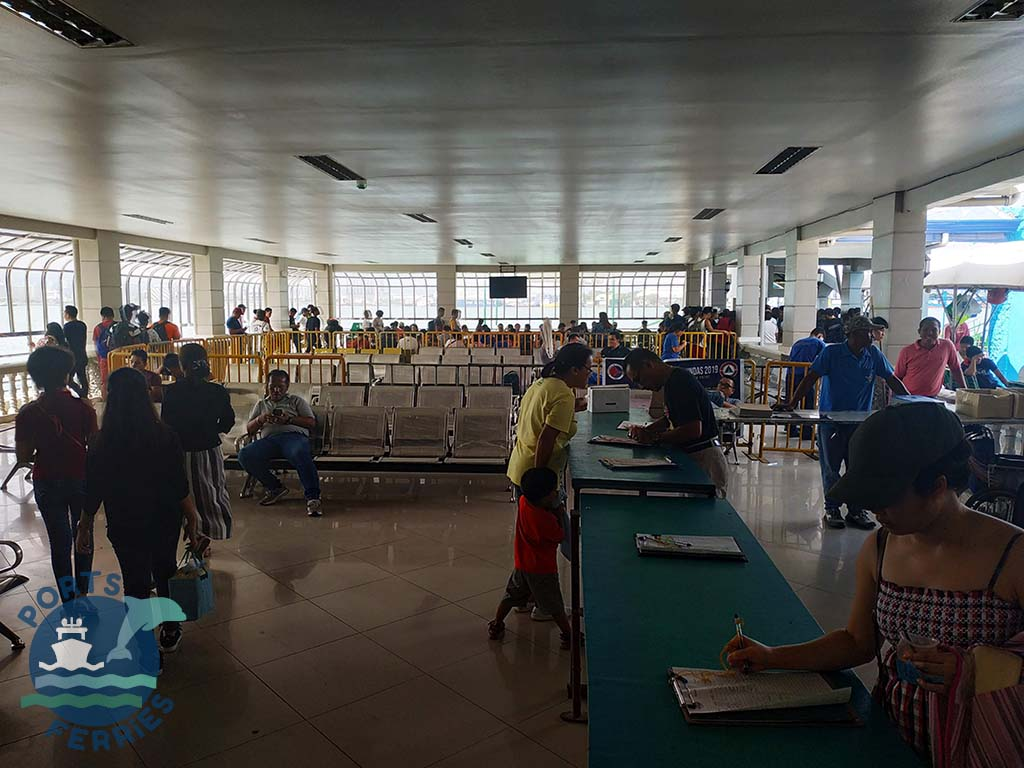 Ferry Terminal at Lapu-Lapu City