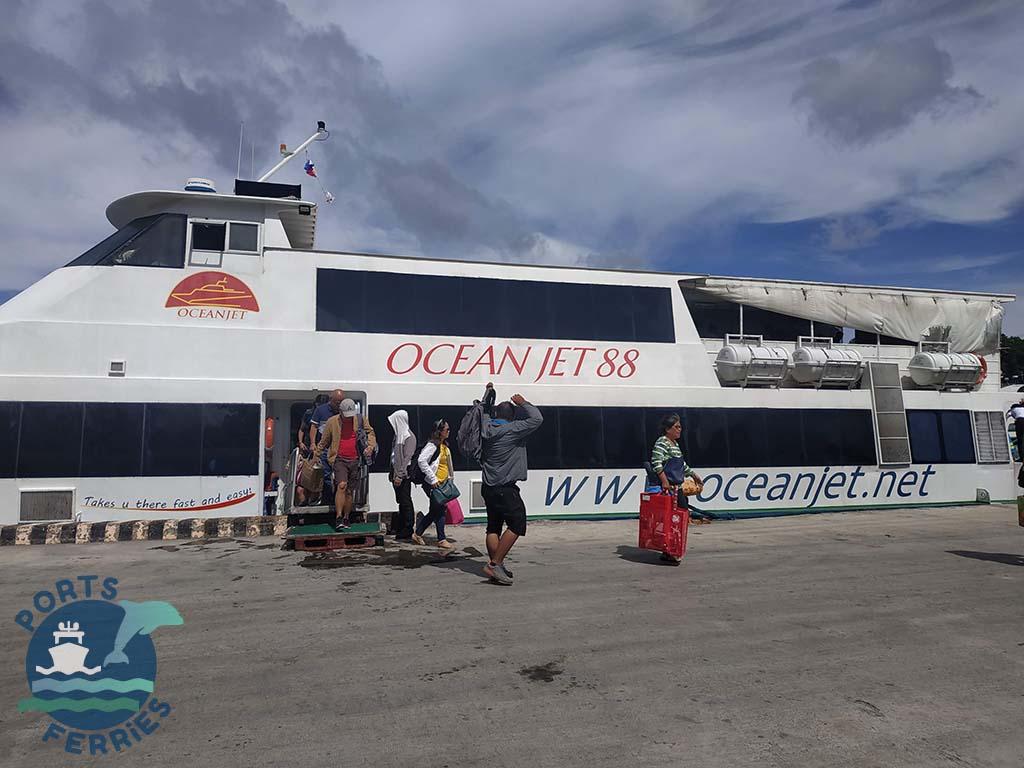OceanJet 88 Ferry Vessel