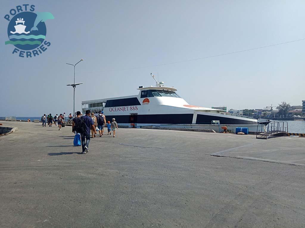 OceanJet 888 Ferry Vessel