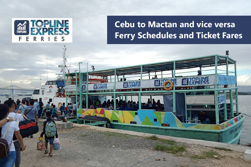 Opon to Pier 3, Cebu City and vice versa: Topline Express Schedule