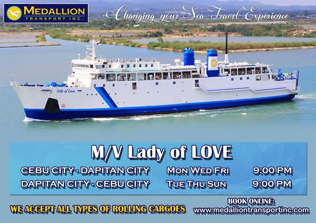 Medallion Transport Cebu-Dapitan Ferry Schedule