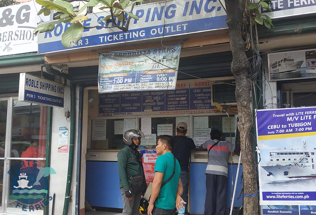 Roble Shipping Ticketing Outlet at Cebu City Pier 3