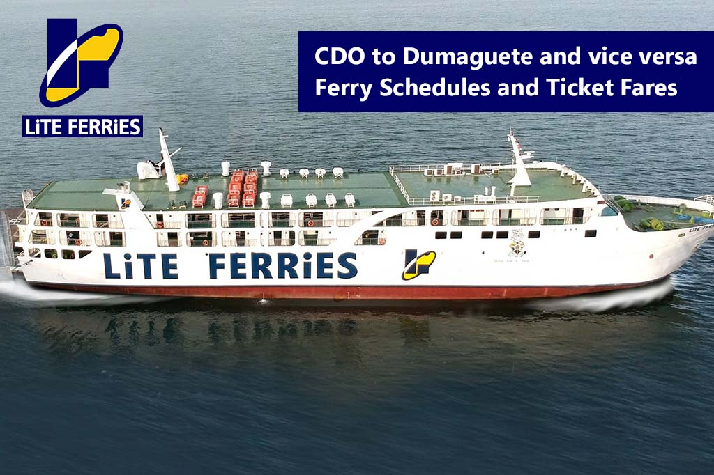 2020 Lite Ferry Cagayan de Oro-Dumaguete: Schedule & Fares