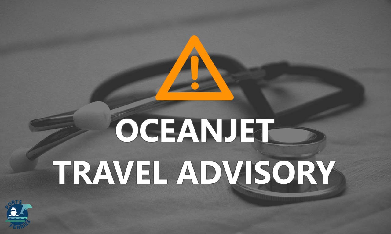 OceanJet Travel Advisory: Canceled trips for March 2020 due to quarantine