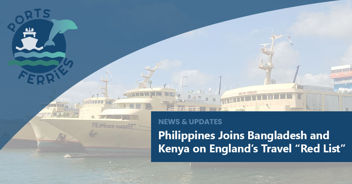 """Philippines Joins Bangladesh and Kenya on England's Travel """"Red List"""""""