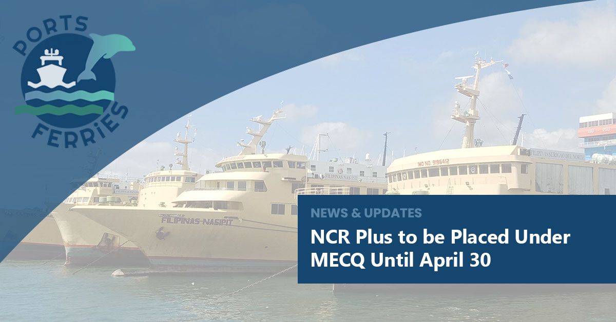 NCR Plus to be Placed Under MECQ Until April 30